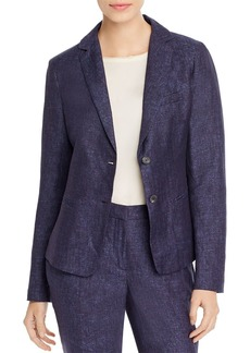 Fabiana Filippi Two-Button Notch-Lapel Blazer