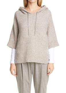 Fabiana Filippi Wool & Alpaca Blend Bouclé Hood
