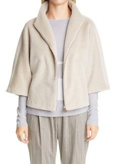 Fabiana Filippi Wool Blend Crop Jacket