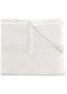 Fabiana Filippi fine knit frayed edge scarf