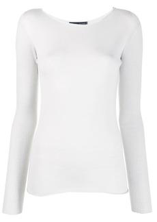 Fabiana Filippi fine knit long sleeve top