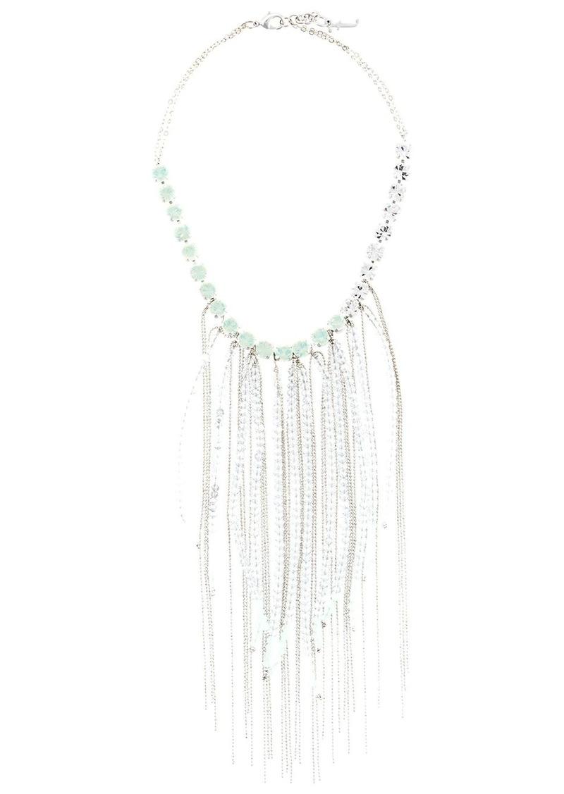Fabiana Filippi fringe beaded necklace