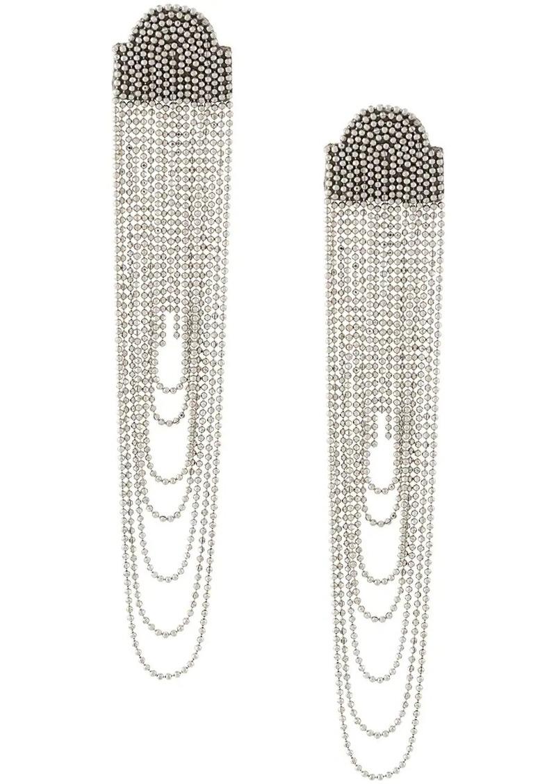 Fabiana Filippi fringe drop earrings