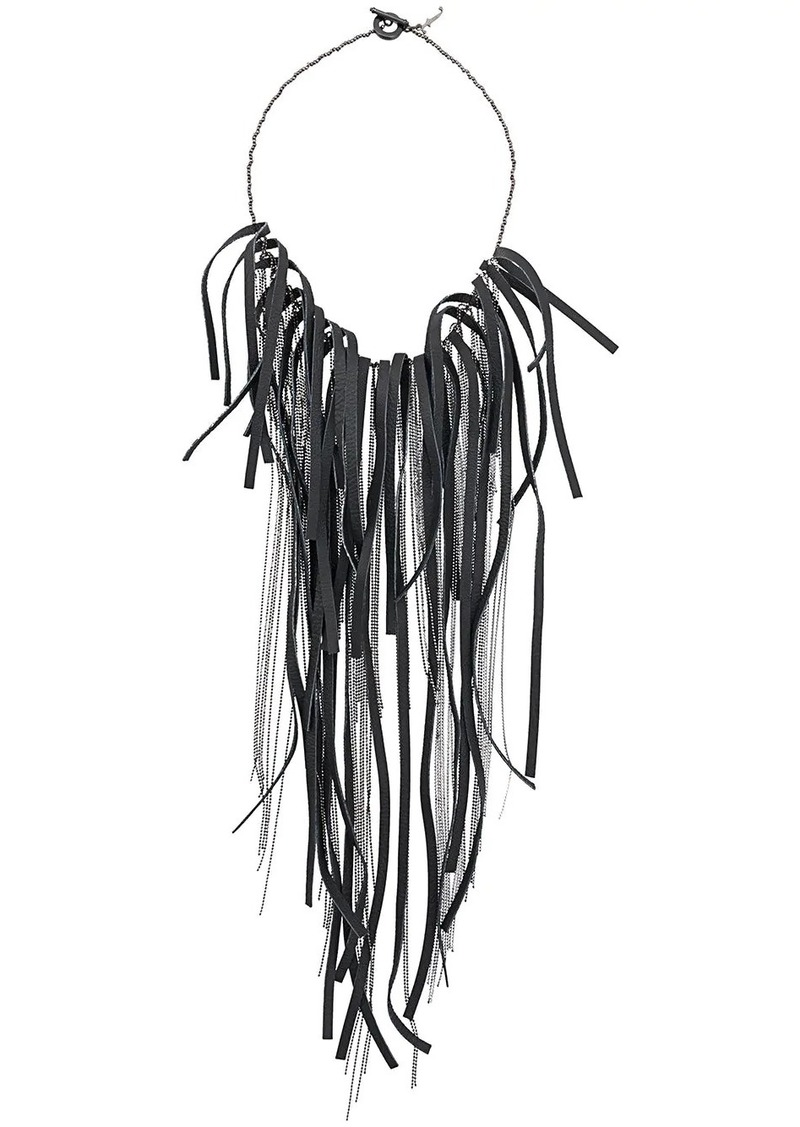 Fabiana Filippi fringe necklace