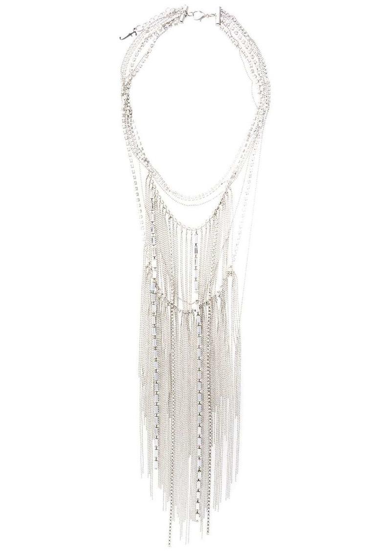 Fabiana Filippi fringed chain necklace