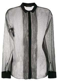 Fabiana Filippi long-sleeve sheer blouse