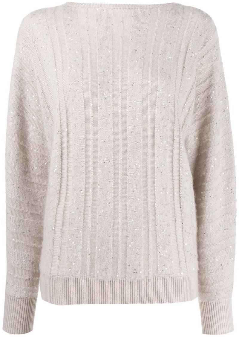 Fabiana Filippi loose-fit cashmere jumper
