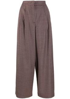 Fabiana Filippi loose-fit cropped trousers