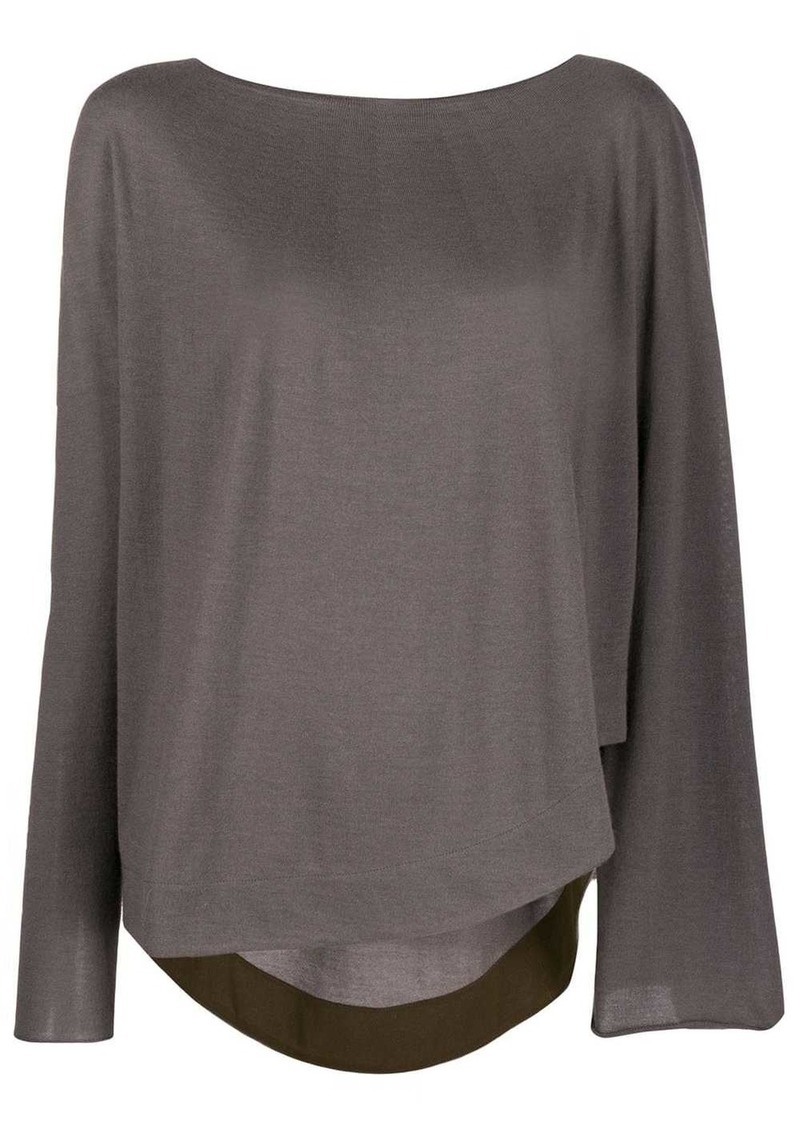 Fabiana Filippi loose fit sweater
