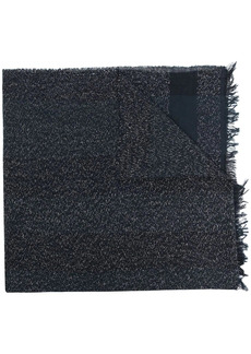 Fabiana Filippi metallic threaded frayed edge scarf
