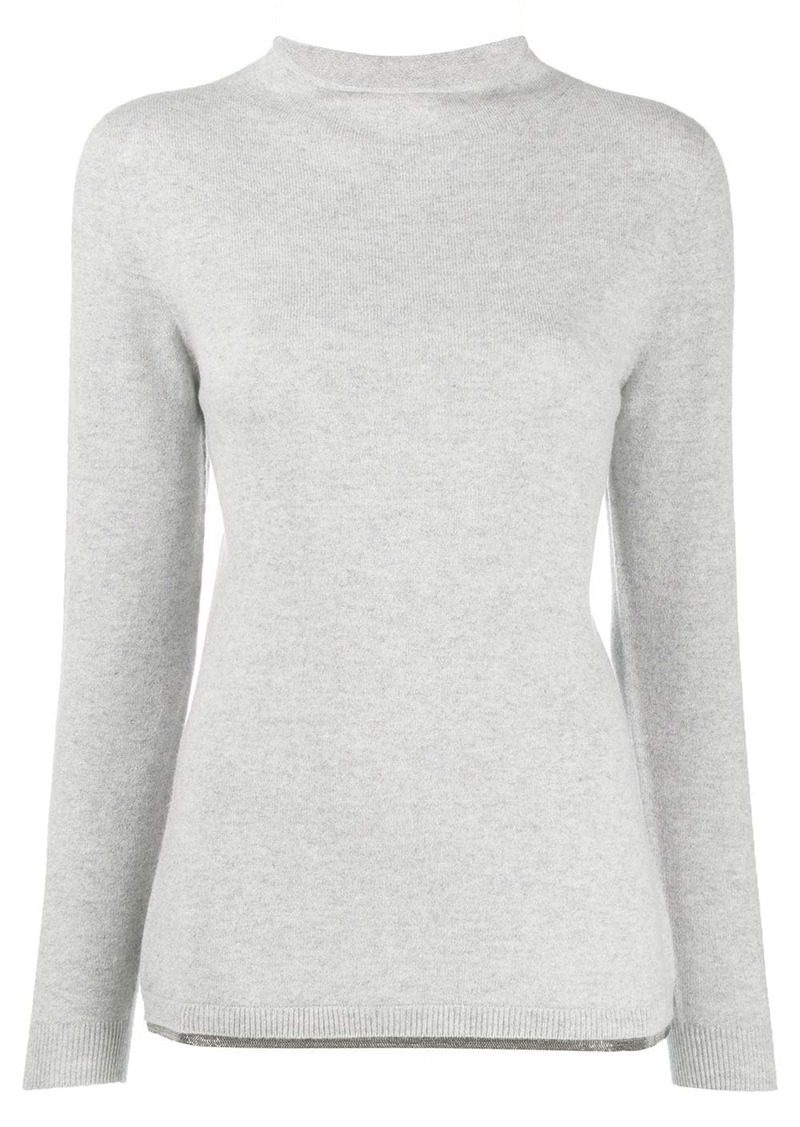 Fabiana Filippi mock neck jumper