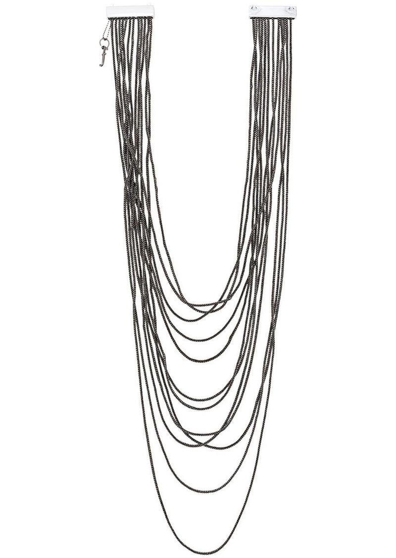Fabiana Filippi multi-strand chain necklace