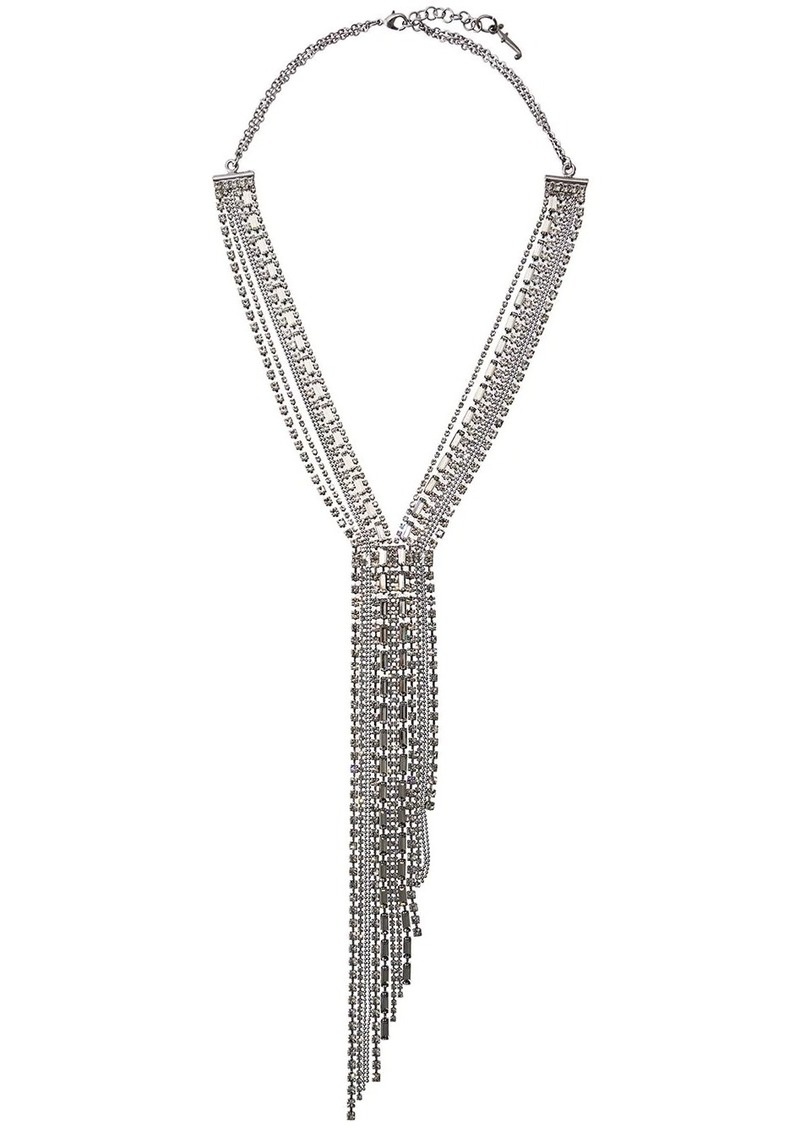 Fabiana Filippi multi-strand crystal necklace