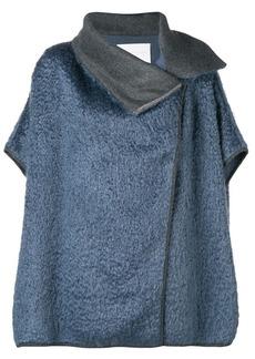 Fabiana Filippi oversized wrap front coat
