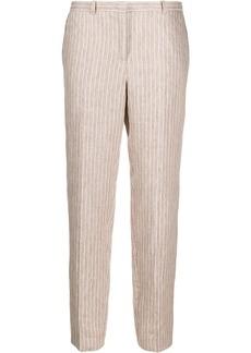 Fabiana Filippi pinstriped cropped trousers