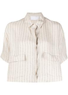 Fabiana Filippi pinstriped shirt jacket