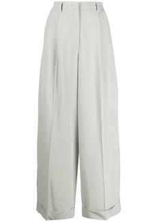 Fabiana Filippi pleated wide-leg trousers