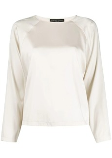 Fabiana Filippi round neck blouse