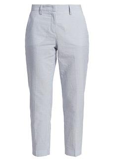Fabiana Filippi Seersucker Cropped Pants