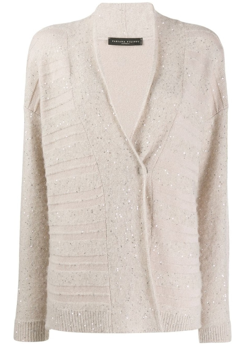 Fabiana Filippi sequin-embellished cardigan