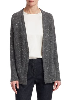 Fabiana Filippi Sequin Wool-Blend Cardigan