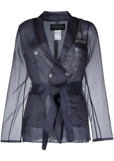 Fabiana Filippi sheer-sleeve blazer