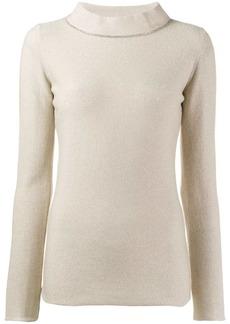 Fabiana Filippi slim-fit knitted top