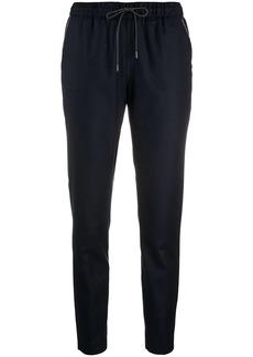 Fabiana Filippi slim-fit track-style trousers
