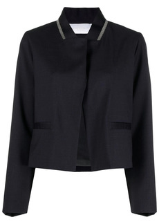 Fabiana Filippi stand-up collar jacket
