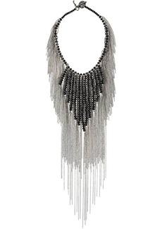 Fabiana Filippi tassel choker necklace