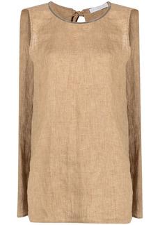 Fabiana Filippi trapeze-style blouse