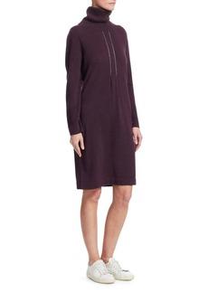 Fabiana Filippi Turtleneck Sweater Dress