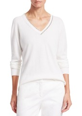 Fabiana Filippi V-Neck Cashmere Sweater