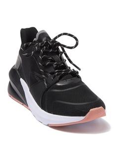 Fabletics Black Palm Lace-Up Sneaker