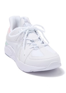 Fabletics LDS White Chunky Lace-Up Sneaker