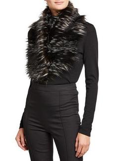 Fabulous Furs Faux Fur Clip Scarf