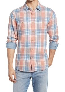 Faherty Brand The Roadtrip Flannel Button-Up Shirt