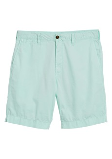 Faherty Cloud Cotton Harbor Flat Front Shorts