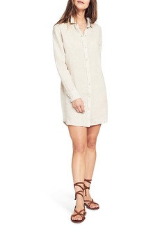 Faherty Gavin Long Sleeve Linen Shirtdress