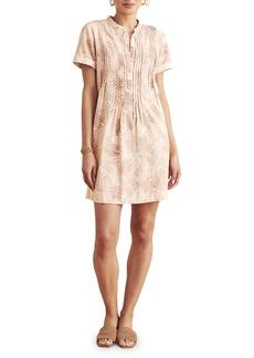 Faherty Gemina Pintuck Pleat Dress