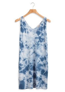 Faherty Georgia Tie Dye Tank Dress
