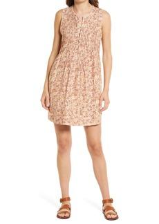 Faherty Isha Floral Linen Dress