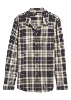 Faherty Legend Button-Up Sweater Shirt