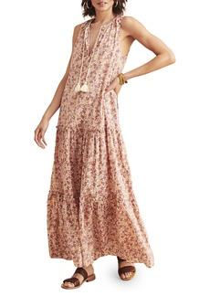 Faherty Mira Sleeveless Maxi Dress