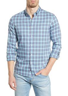 Faherty Movement Plaid Button-Up Shirt