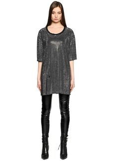 Faith All Over Studded T-shirt Dress