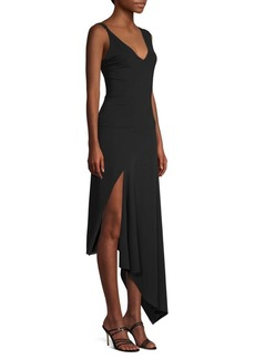 Faith Asymmetrical Fitted Dress