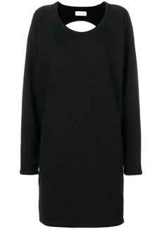 Faith backless sweatshirt dress