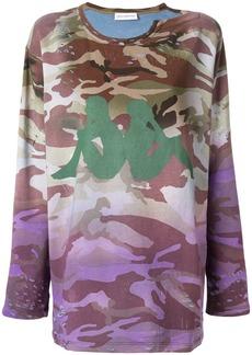 Faith camouflage print sweatshirt
