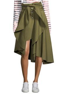 Faith Canvas Wrap Skirt